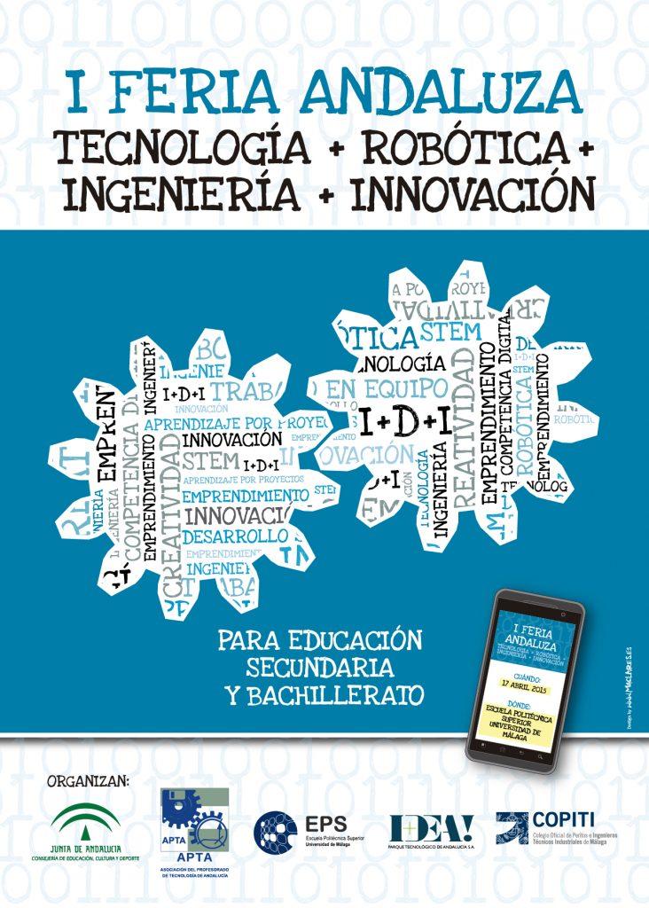Cartel I Feria Andaluza de Tecnología  FANTEC 2015
