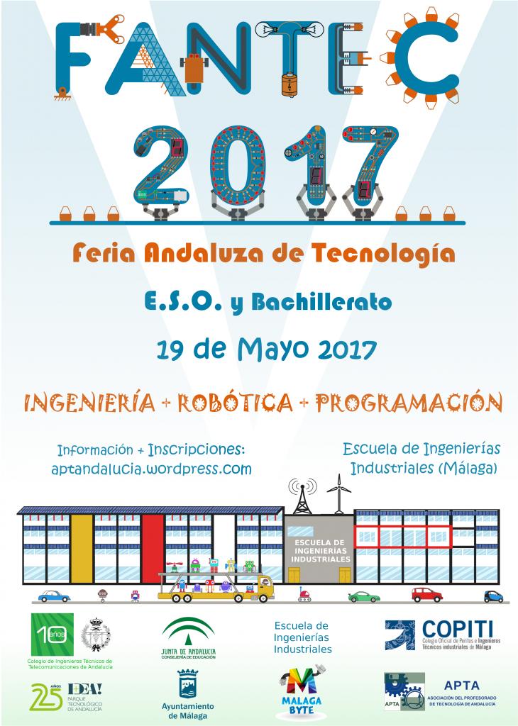 Cartel III Feria Andaluza de Tecnología  FANTEC 2017